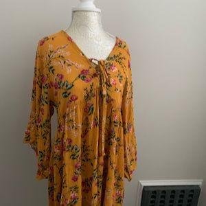 Dresses & Skirts - Floral Print Festival Dress